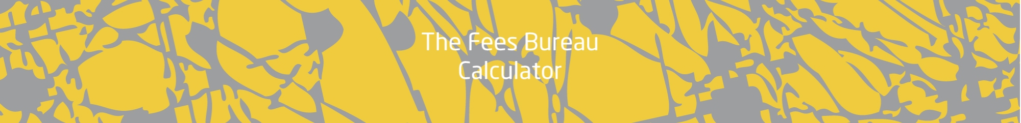 The Fees Bureau Banne